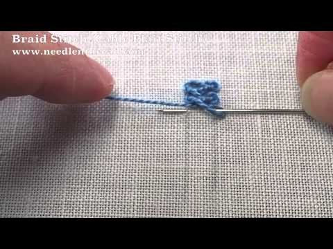 Braid Stitch or Cable Plait Stitch