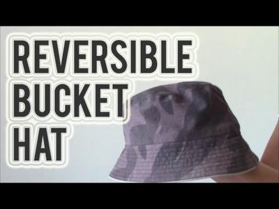 DIY: Bucket Hat (Reversible)
