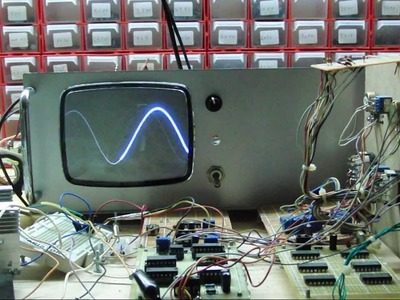 DIY oscilloscope - Must see!