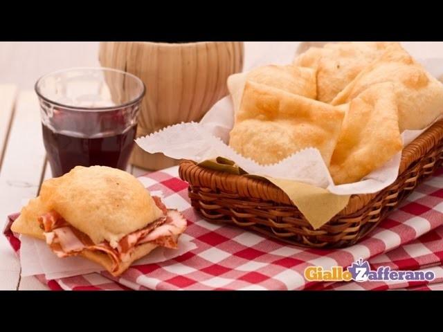 Gnocco fritto ( fried savory dough ) Italian recipe