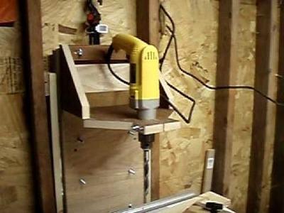 Homemade Drill Press