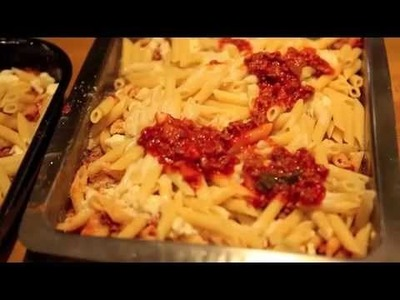 How to Cook Mamma's Pasta Al Forno (Baked Ziti or penne)