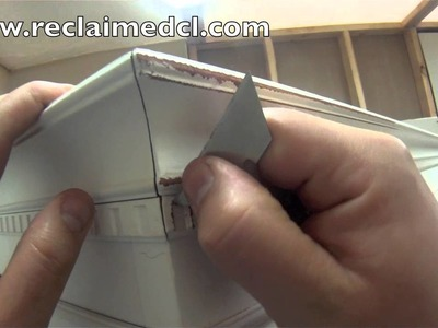 How to distress detailed furniture