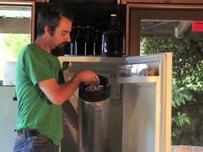How to keg a homebrew beer
