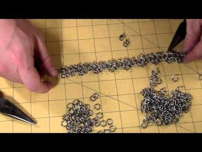 How to Make a Chainmail Rose Pattern