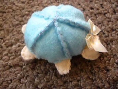 How to Make a Cute Turtle Plush From Felt