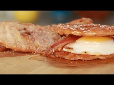 How to Make a Donut Chip Breakfast Sandwich