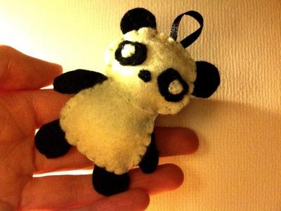 How to Make a Kawaii Panda Plushie