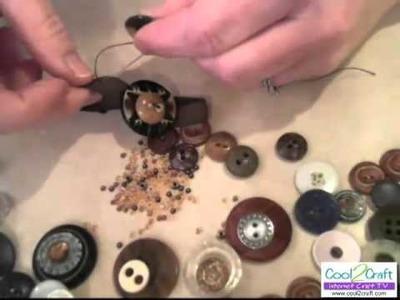 How to Make a Vintage Button Bracelet by Candace Jedrowicz