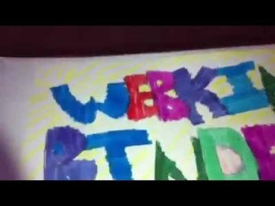 How to make a webkinz binder!!