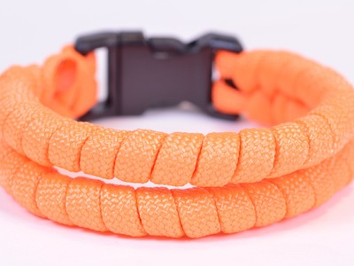 How to Make the 2 Strand Loop Paracord Survival Bracelet - BoredParacord