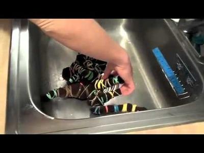 How to Reverse Tie-Dye