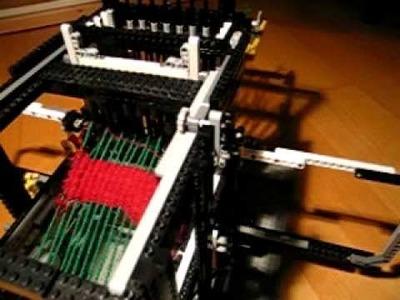 Lego NXT Loom 2 - statve