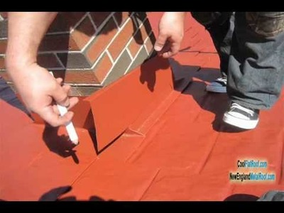 METAL ROOF Chimney Flashing - How to Prevent Leaks