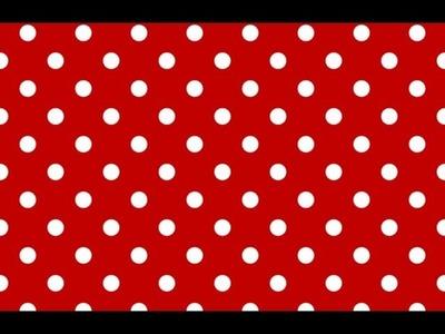Polka Dot pattern in GIMP 2.8