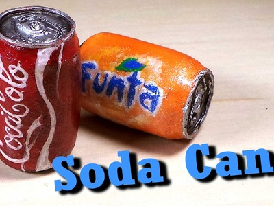 Polymer Clay Soda Can Tutorial - Charm.Miniature