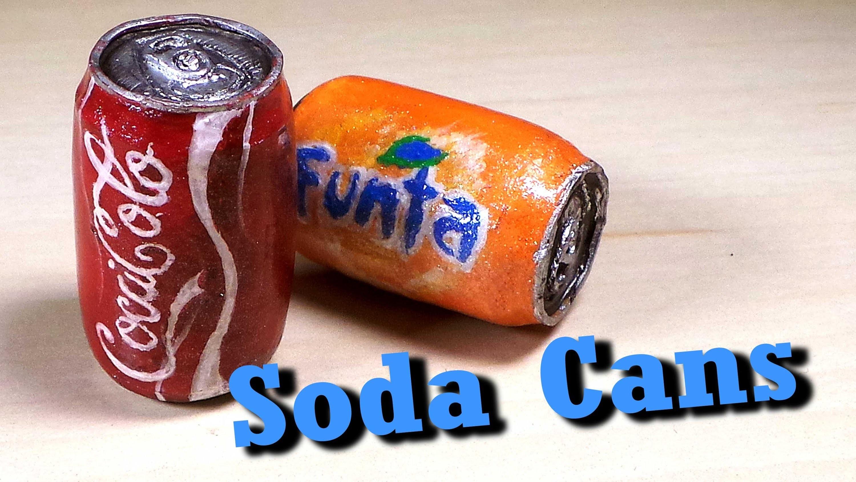 Polymer Clay Soda Can Tutorial - Charm.Miniature