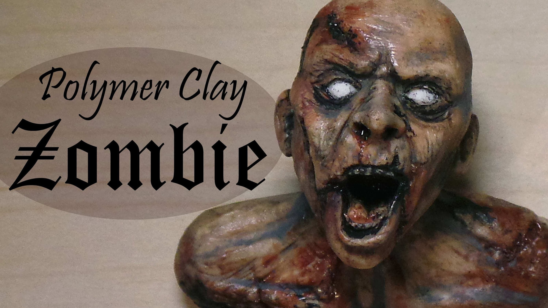 Polymer Clay Zombie Tutorial.Timelapse