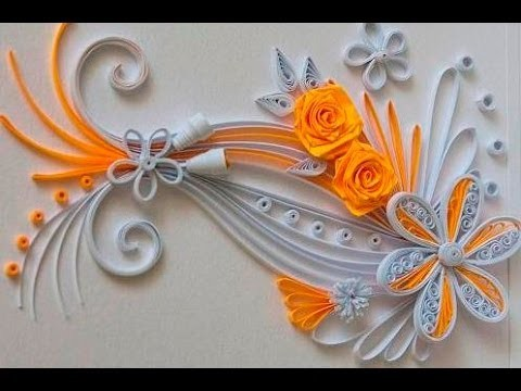 Quilling Made Easy # How to make Quilling Flower -Paper quilling Art
