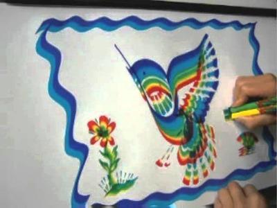 Rainbow Art Basic Instructions using RainbowBrush®