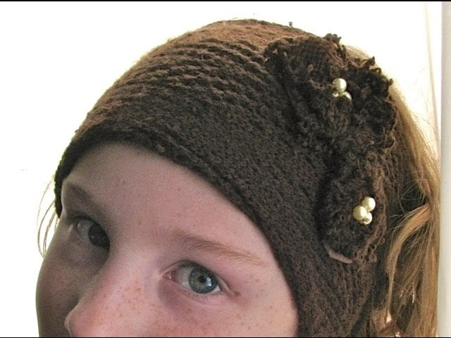 Sweater Headband Tutorial