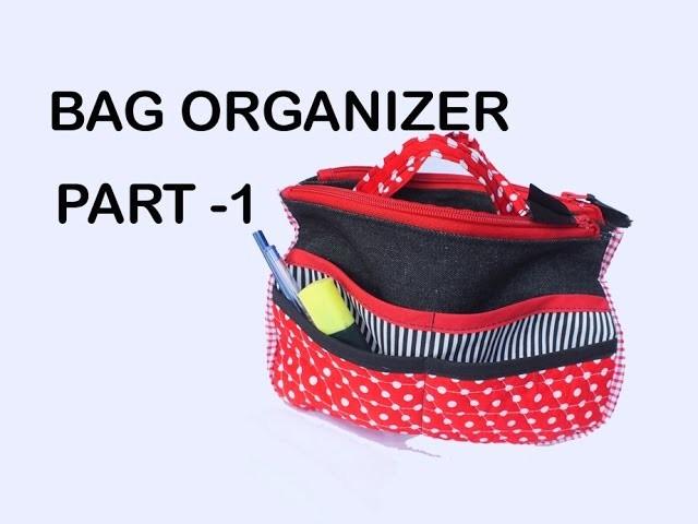 Travel Insert Organizer. Purse Makeup Organiser PART 1. DIY Bag Vol 12A
