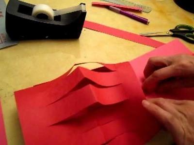 Try to make paper lantern 01