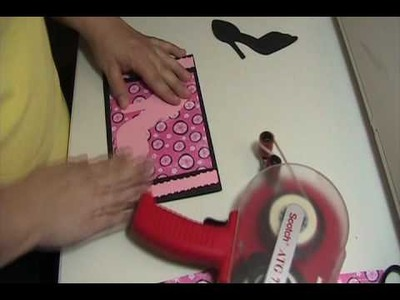 Video #7 ~ Shoe Bling Bling Card