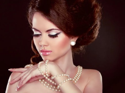 22 Ways to wear your Pearl Strand.Bridal Necklace. Party Jewellery Style |makeupinfo|