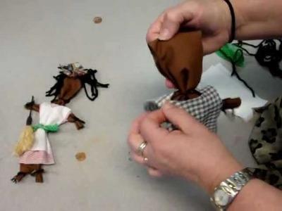 African American-Girl Rag Doll