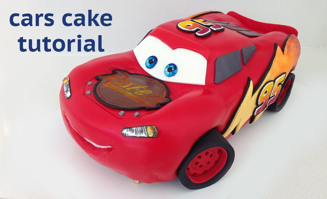 Cars Cake Tutorial HOW TO COOK THAT Disney Lightning McQueen Ann Reardon
