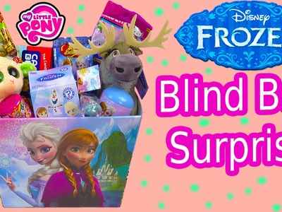 Disney Frozen Easter Basket Box Blind Bags MLP Lego Surprise Mystery Minis Beanie Boos