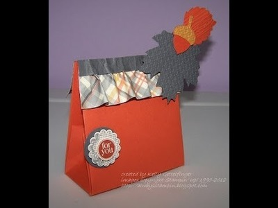 FUN FOLDS Paper Ruffle and Small One Sheet Bag with Kelly Gettelfinger