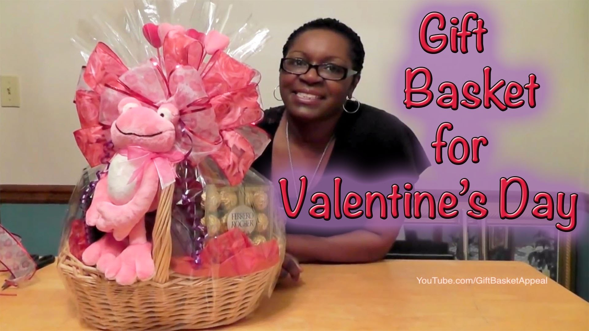 Gift Basket Instructions - How to Make a Valentine's Day Gift Basket - Giftbasketappeal