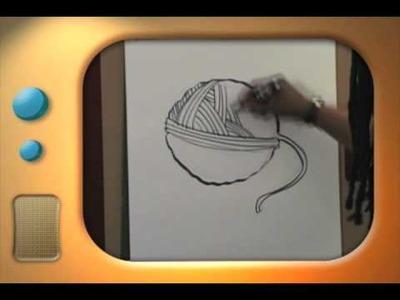 Hal and Al Drawing Segment-Ball Of Yarn