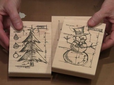Holiday Cards With Tim Holtz Stamps by Joggles.com
