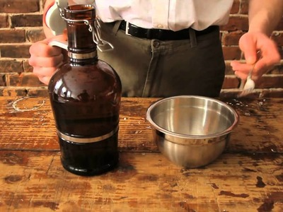 Home Brewing How To · Preparing A Yeast Starter