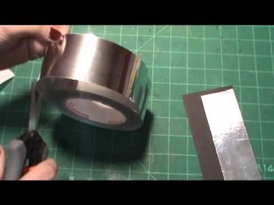 How I Made Foil Tags