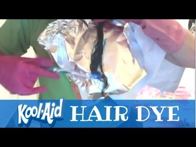 How to Dye Your Hair With Kool-Aid | thecoolios