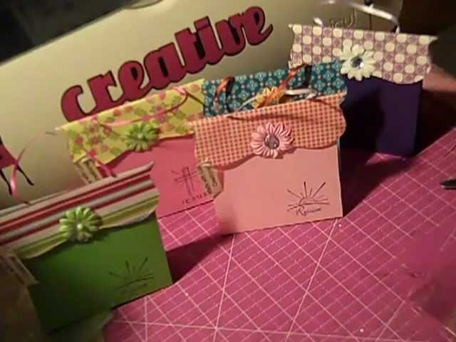 How to make a paper purse gift bag