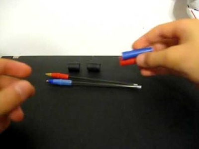 How to make a really good CHEAP pen spinning pen!!!