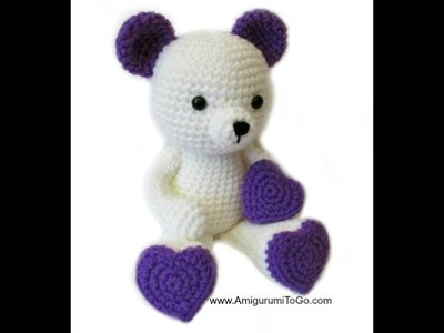 How To Make Heart Legs For Valentine Teddy