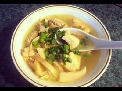 How to make Sgnor Sach Moan (Chicken Soup)