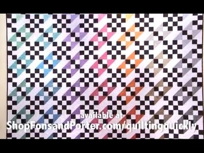 How To Make the Jacob's Coat of Many Colors Quilt