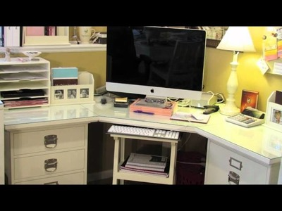 How to organize your Stampin Up desk