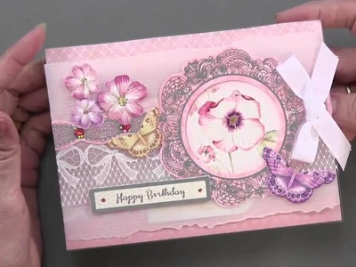 Hunkydory Lace in Blooms Luxury Card Making Kit Plus More! - Paper Wishes Weekly Webisodes