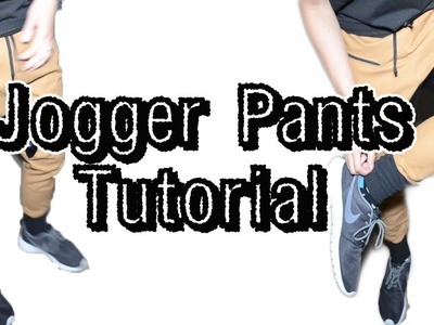 Jogger Pants Tutorial