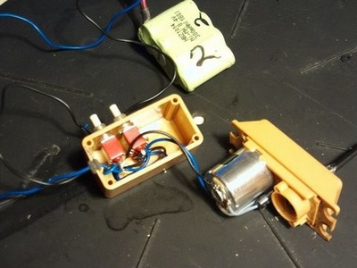 Make Electric Screw Drivers  from R.C servos.
