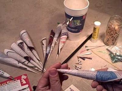 Paper Darts for a Blowgun