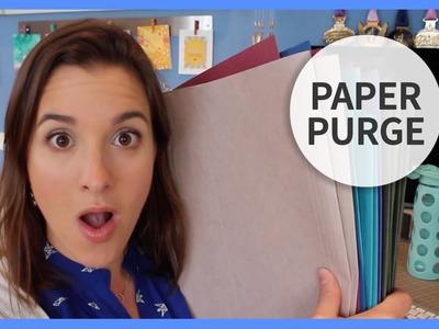 Paper Purge   Spring 2015